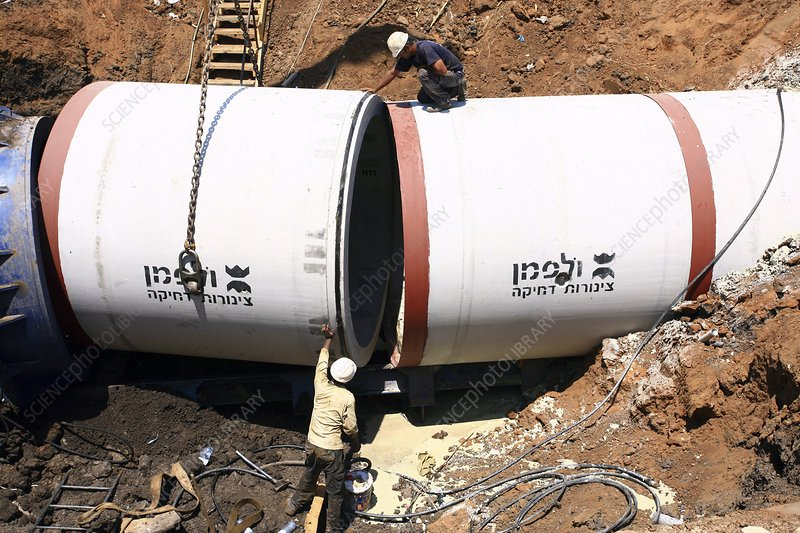Sewer construction, Israel