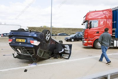 Motorway accident