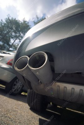 Car exhaust pipes