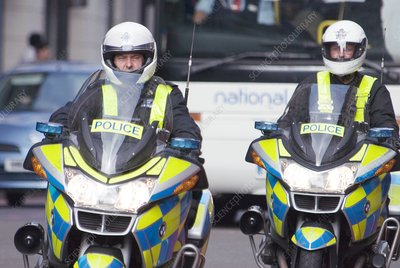 Police motorcyclists