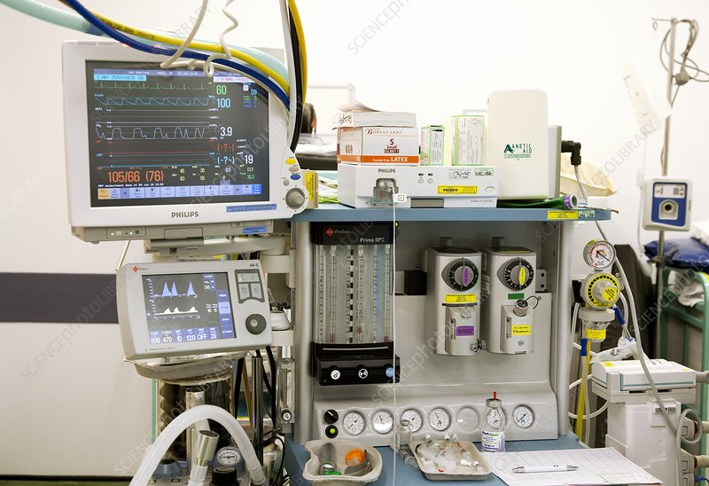 Anaesthetist's station
