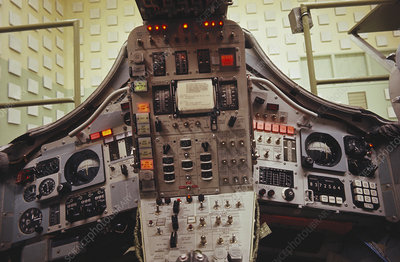 Gemini Spacecraft Interior