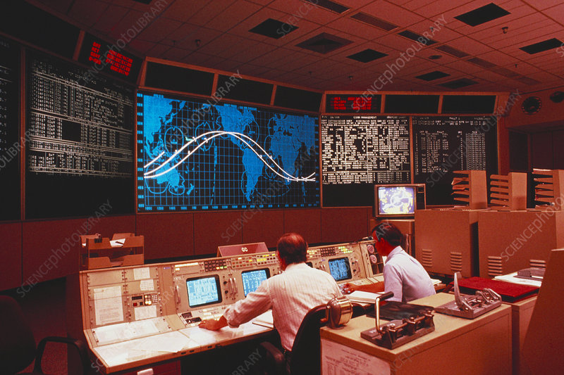 1960s NASA Houston Control Room - Pics about space