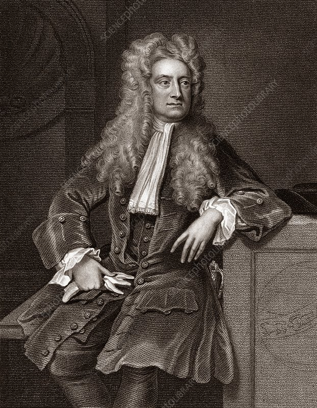 Isaac newton english physicist