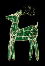 Christmas reindeer, X-ray