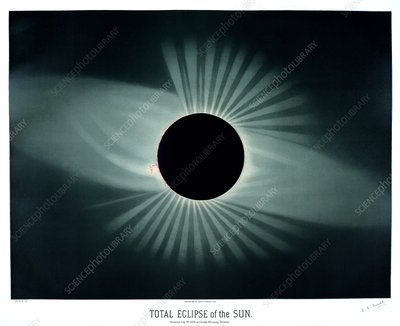 Total solar eclipse, 1878