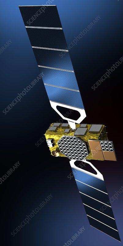 galileo navigation satellite artwork stock image c008. Black Bedroom Furniture Sets. Home Design Ideas