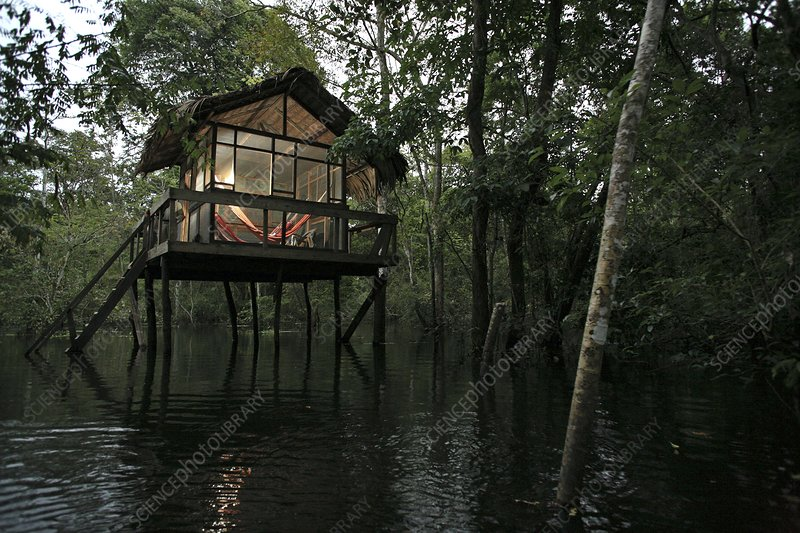 Uakari Floating Lodge, Amazonia