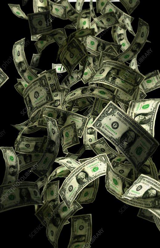Cash confetti