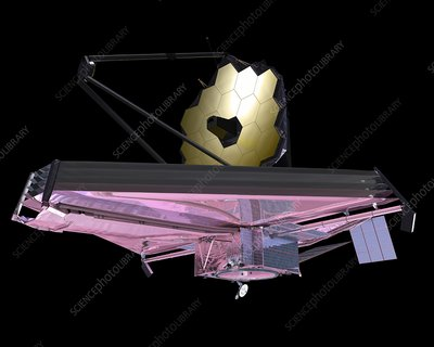 James Webb Space Telescope, artwork