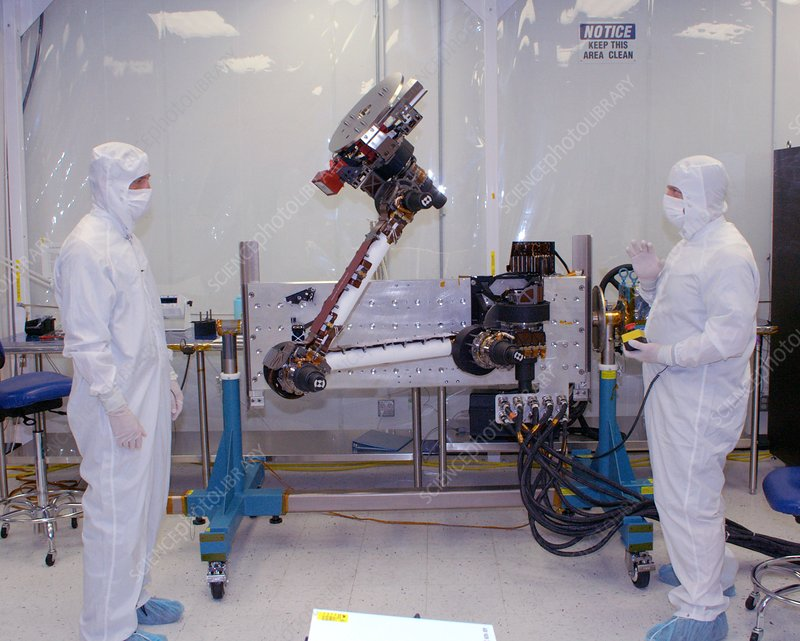 Mars Science Laboratory robotic arm
