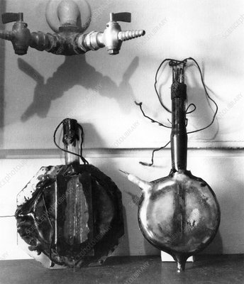 Early cyclotron equipment, 1930