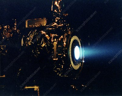 Ion engine test firing, 1998