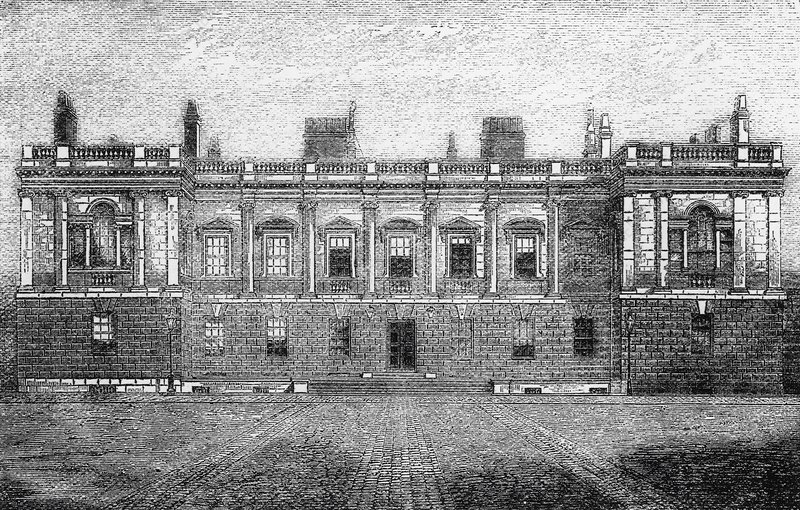 Burlington House, 1868