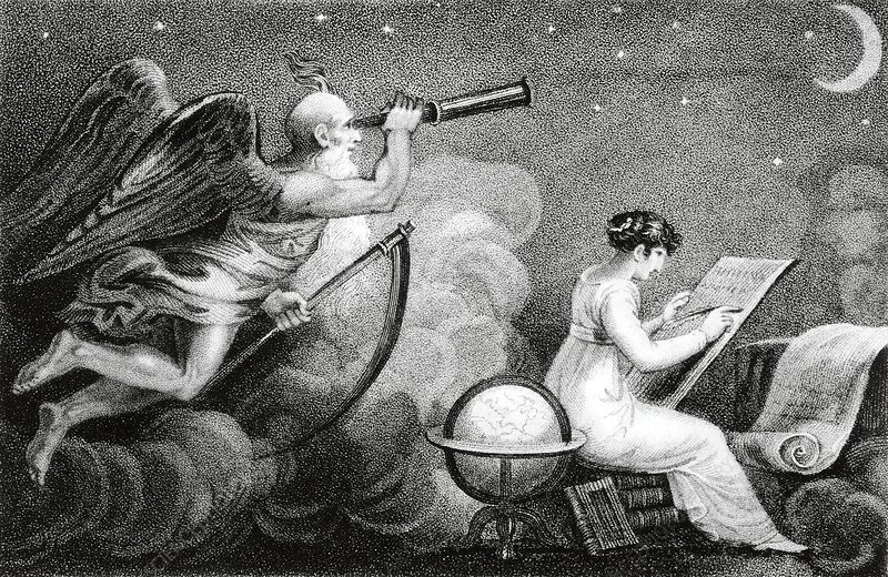 Lady Astronomer and Time