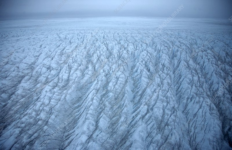Ice sheet surface