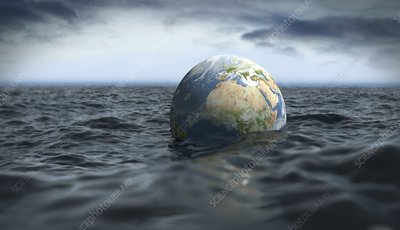 Drowning Earth, conceptual image