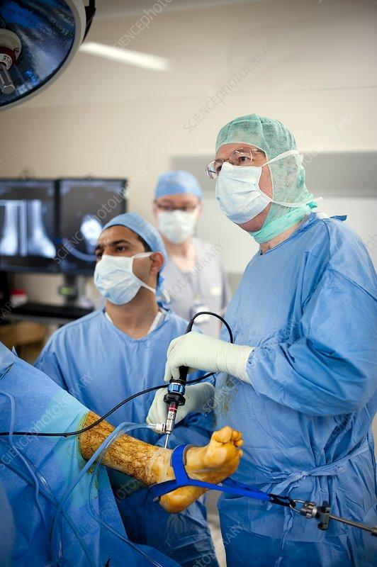 Inside Endoscopy Room: Stock Image C008/5202