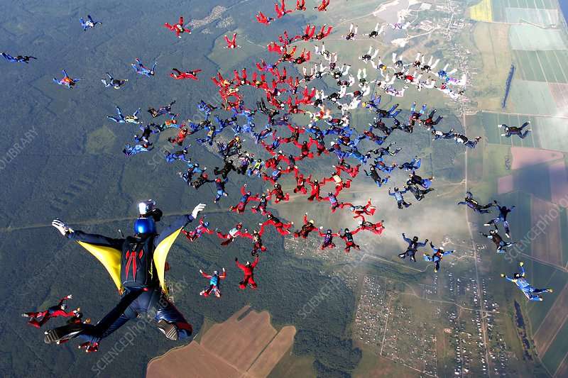 Skydiving championship