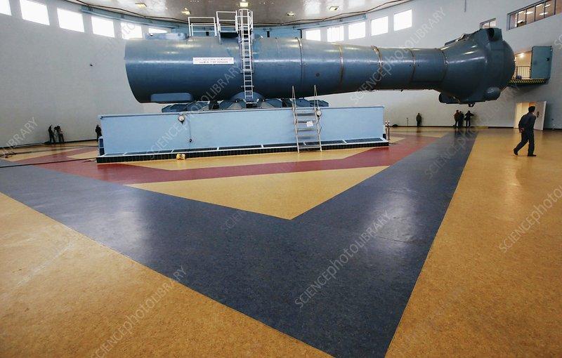 Astronaut training centrifuge - Stock Image C008/5344 ...