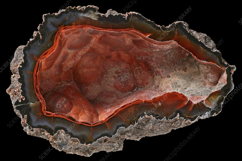 Crater agate