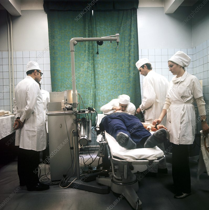 Soviet surgical research, 1970s
