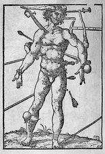 Combat injuries, 16th century