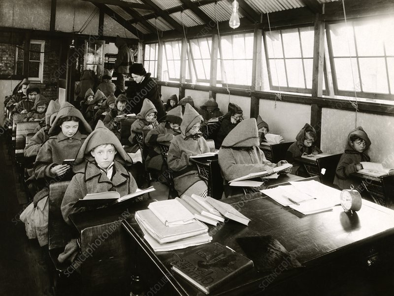 Early 20th Century open-air school
