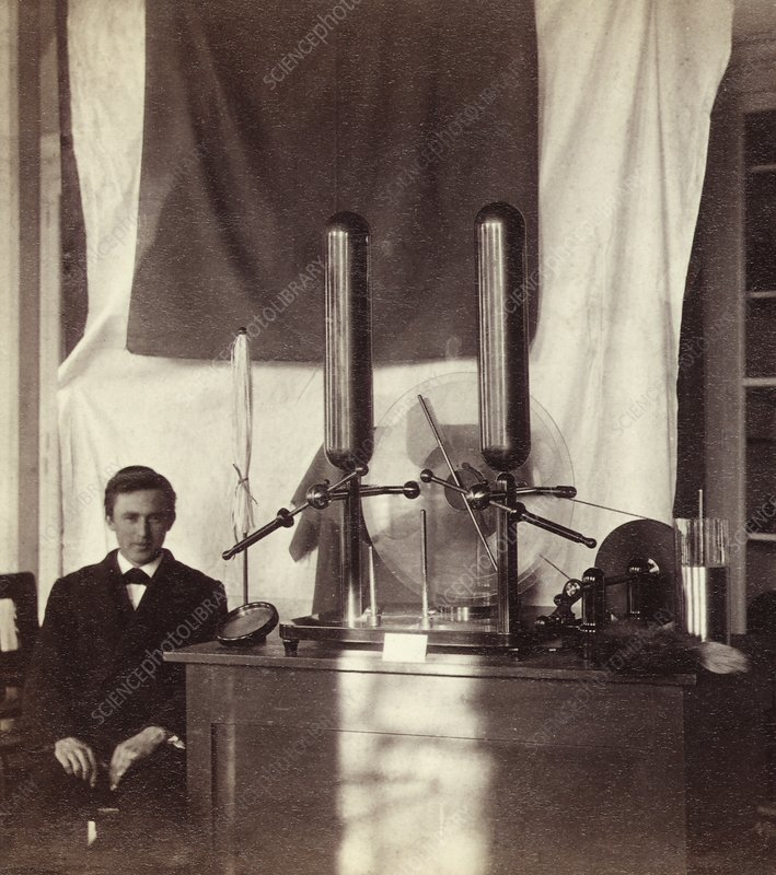 19th Century electrostatic generator