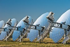 Concentrating solar power plant