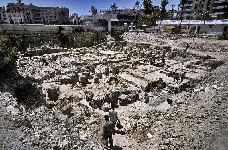 Excavated villas, Alexandria