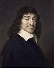 1649 Rene Descartes portrait philosopher