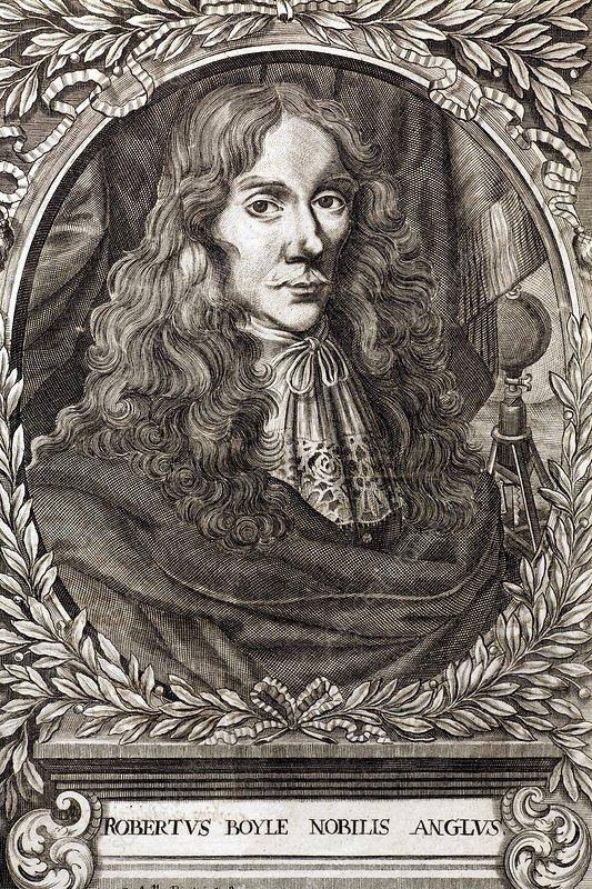 1664 Robert Boyle Portrait
