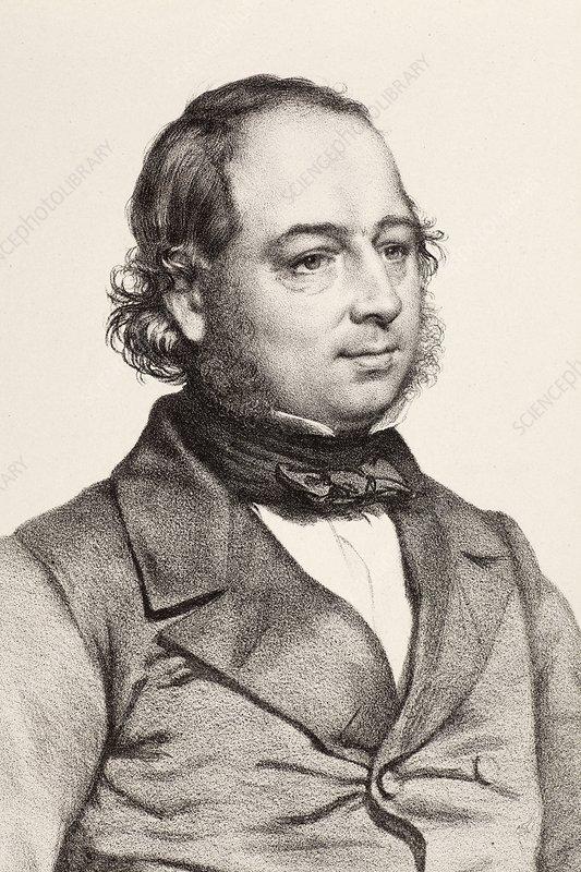 1849 John Gould artist & ornithologist - Stock Image C008 ... John Gould Md Delaware