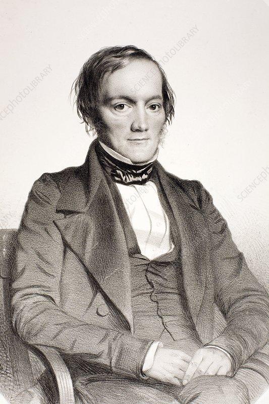 1850 Richard Owen portrait paleontologist