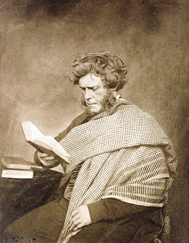 1857 Hugh Miller portrait photograph