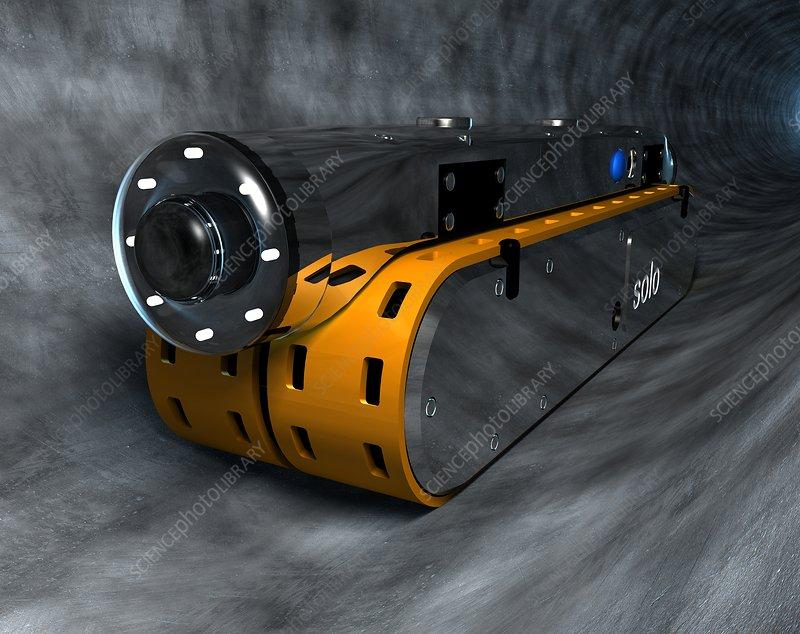 Sewer robot, artwork