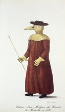 Plague doctor, 18th century