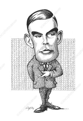 Alan Turing, British mathematician