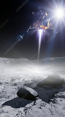 Apollo 11 Moon landing, artwork