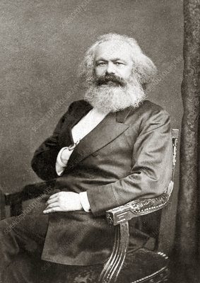 Karl Marx, German political theorist