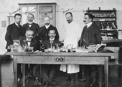 German and US psychiatrists, circa 1904