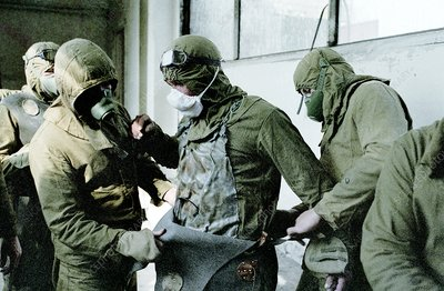 Chernobyl decontamination workers