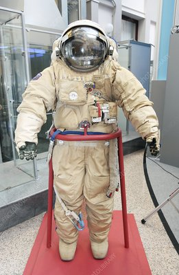 Russian Orlan M spacesuit