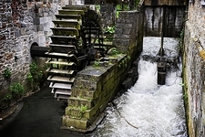 Water wheel, Belgium