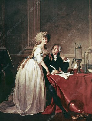 Lavoisier and his wife, 1788