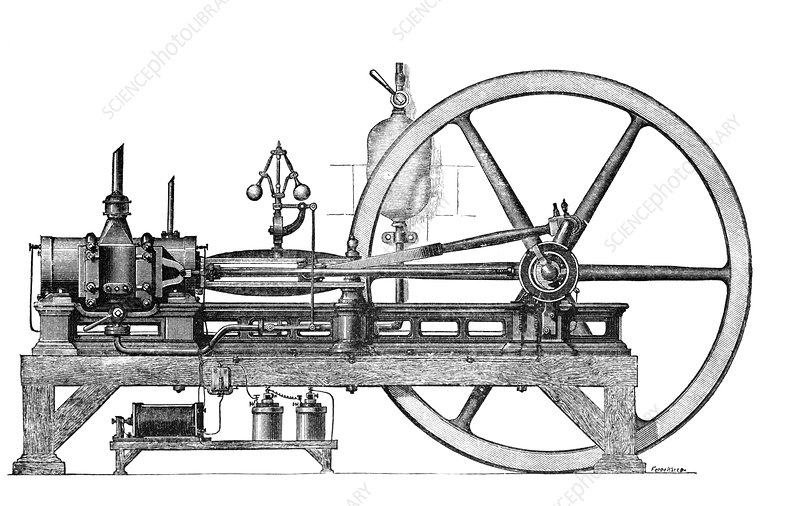 19th century internal combustion engine