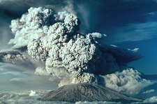 Ash Plume, Mount St. Helens