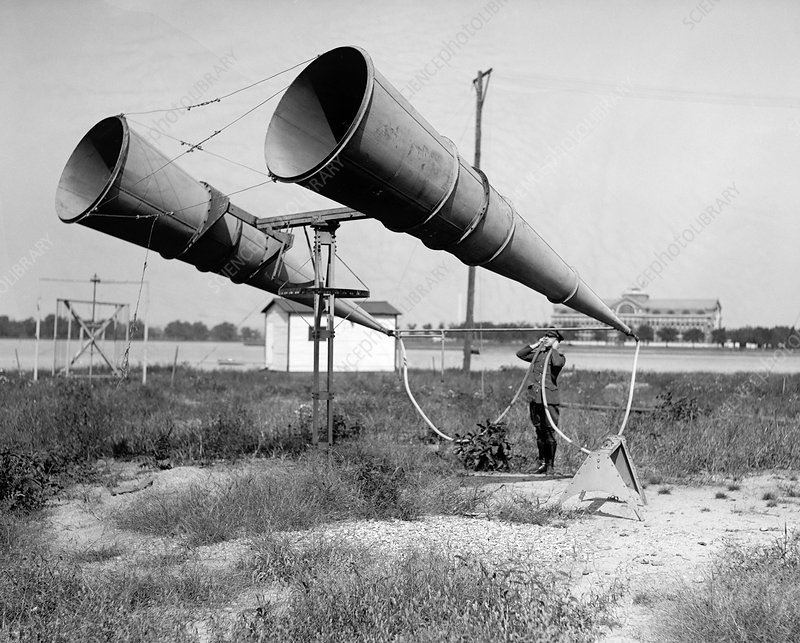 Early 20th Century military amplifiers