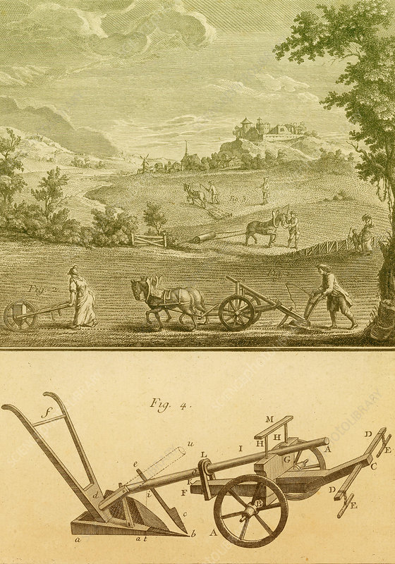 Agriculture, 1700s